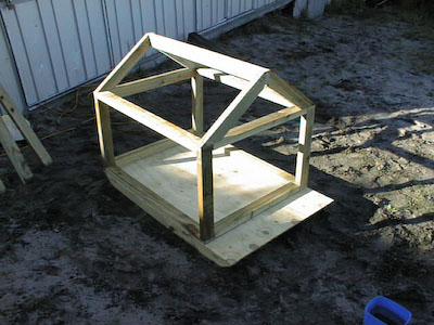 The Dog House that Triton Built Stus Shed