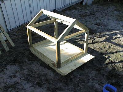 Dog House Stus Shed - Dog-house-frame