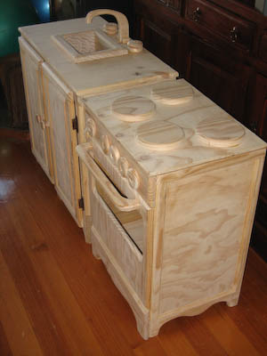 Sink and Stove Set