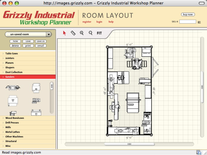 Small Workshop Layout Design