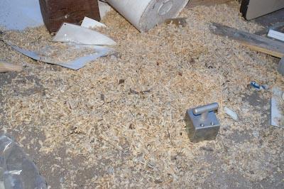 Sawdust Nail Mix