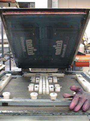 Triton WC2000 Screen Printing