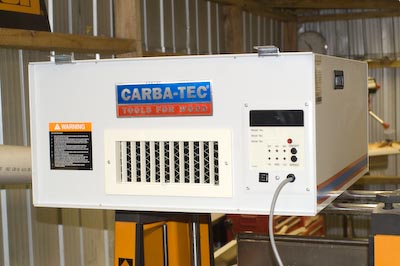 Carbatec Air Filter outlet