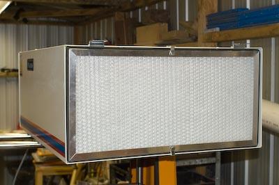 Carbatec Air Filter inlet
