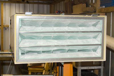 Carbatec Air Filter inlet filter