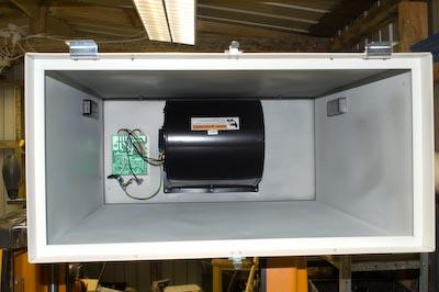 Carbatec Air Filter motor