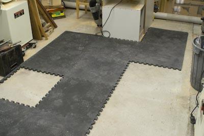 Rubber Flooring Stu S Shed