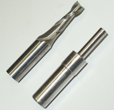 Spiral Router Bit and Alignment Bit