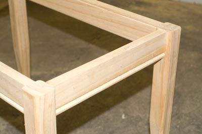 Table base detail