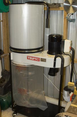 TruPro 2HP Dust Extractor w Pleated Filter