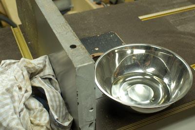 Spun Metal Bowl