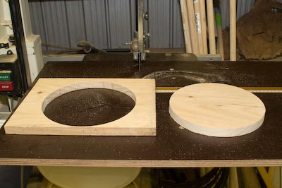 Circle Cutting on the Bandsaw
