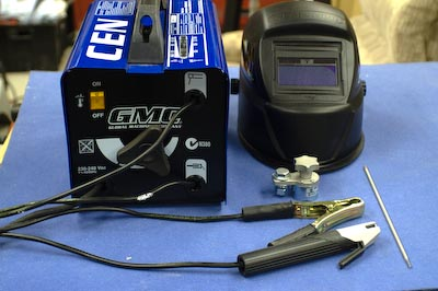 Welder and MagSwitch Welding Clamp