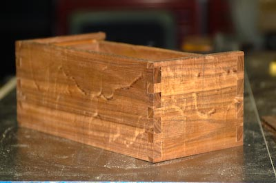Dovetailed Sides
