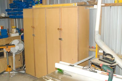 New Storage Cabinets