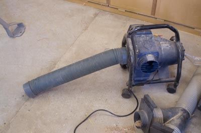 Dust Extractor and Concertina Hose