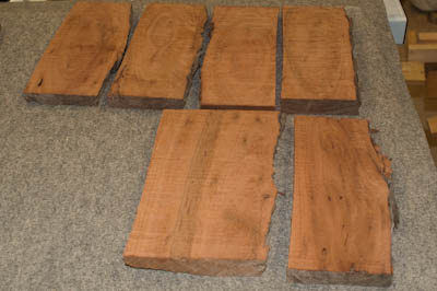 As-cut boards