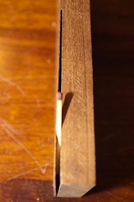 Cutting a veneer