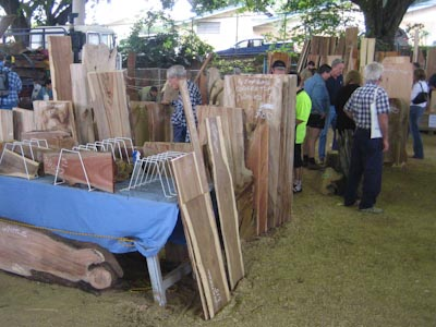 Some of the timber on offer