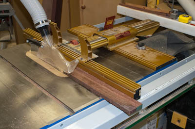 Incra LS as Tablesaw Fence