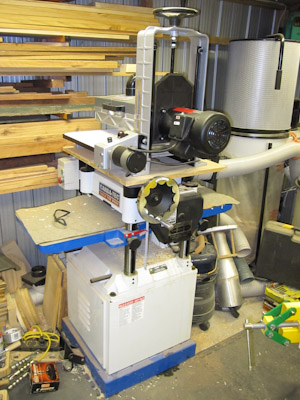 Drum Sander & Thicknesser