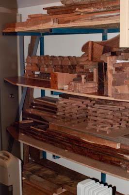 Exotic Timber Storage