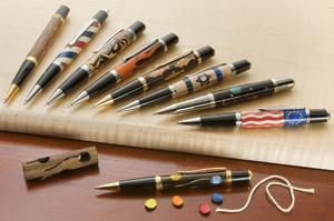 Laser Cut Pen Kits