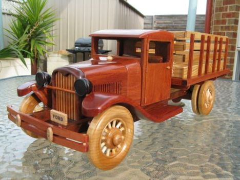 1929 Ford Stake Bed Truck