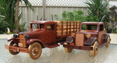 Early Model Car and Truck