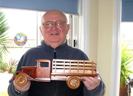 A proud craftsman (and owner) of some beautiful examples