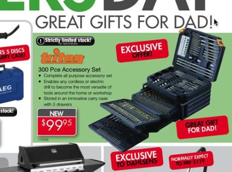 The Triton....no...GMC....no....Griton? TMC? Drill Bit Set