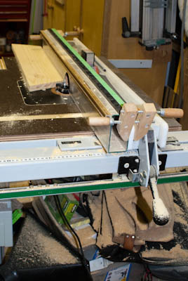 Router Wing with Tablesaw Fence