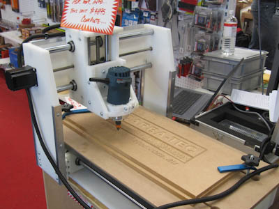 CNC Router from Carbatec