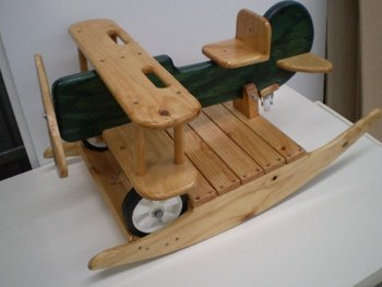 how to build a wooden airplane