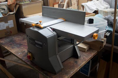 woodwork combination planer thicknesser