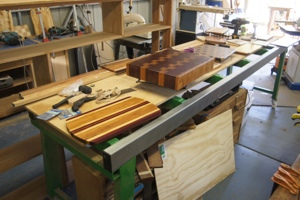 Workcentre as a bench