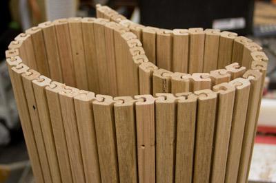 Bending Timber Stus Shed