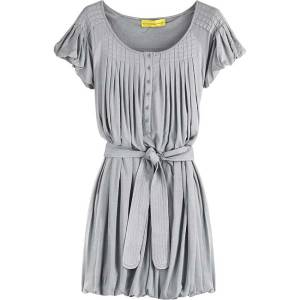 Catherine-Malandrino--Gray-pleated-jesery-bubble-dress-785730