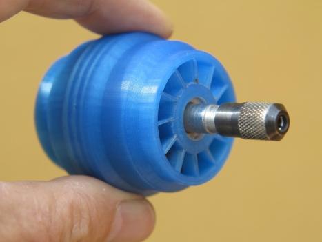 Vacuum Powered Rotary Turbine
