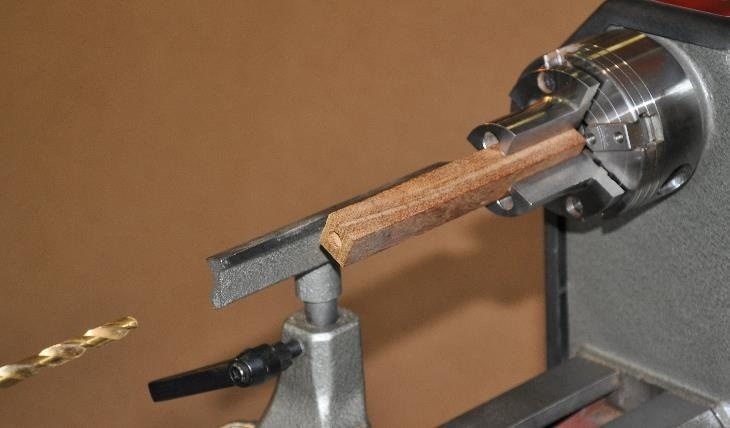 Handcrafted pen, beautiful Hickory grain, by Tim ... |Pen Turning Guide Lathe
