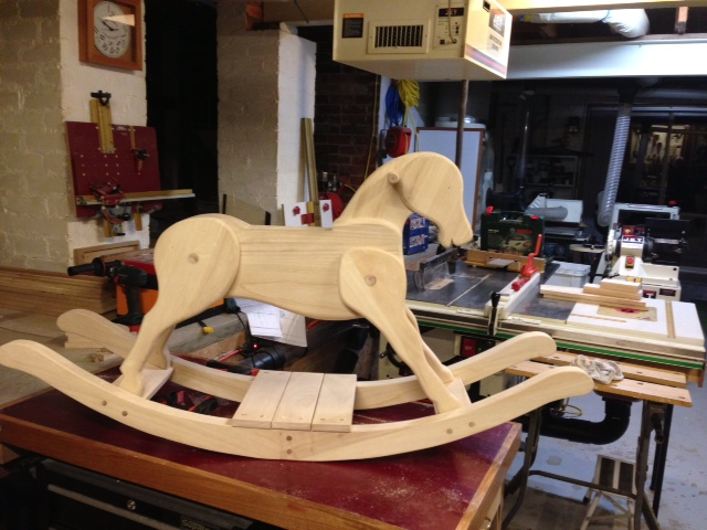 Diy Shopsmith Rocking Horse Plan Pdf Download Kids Wooden