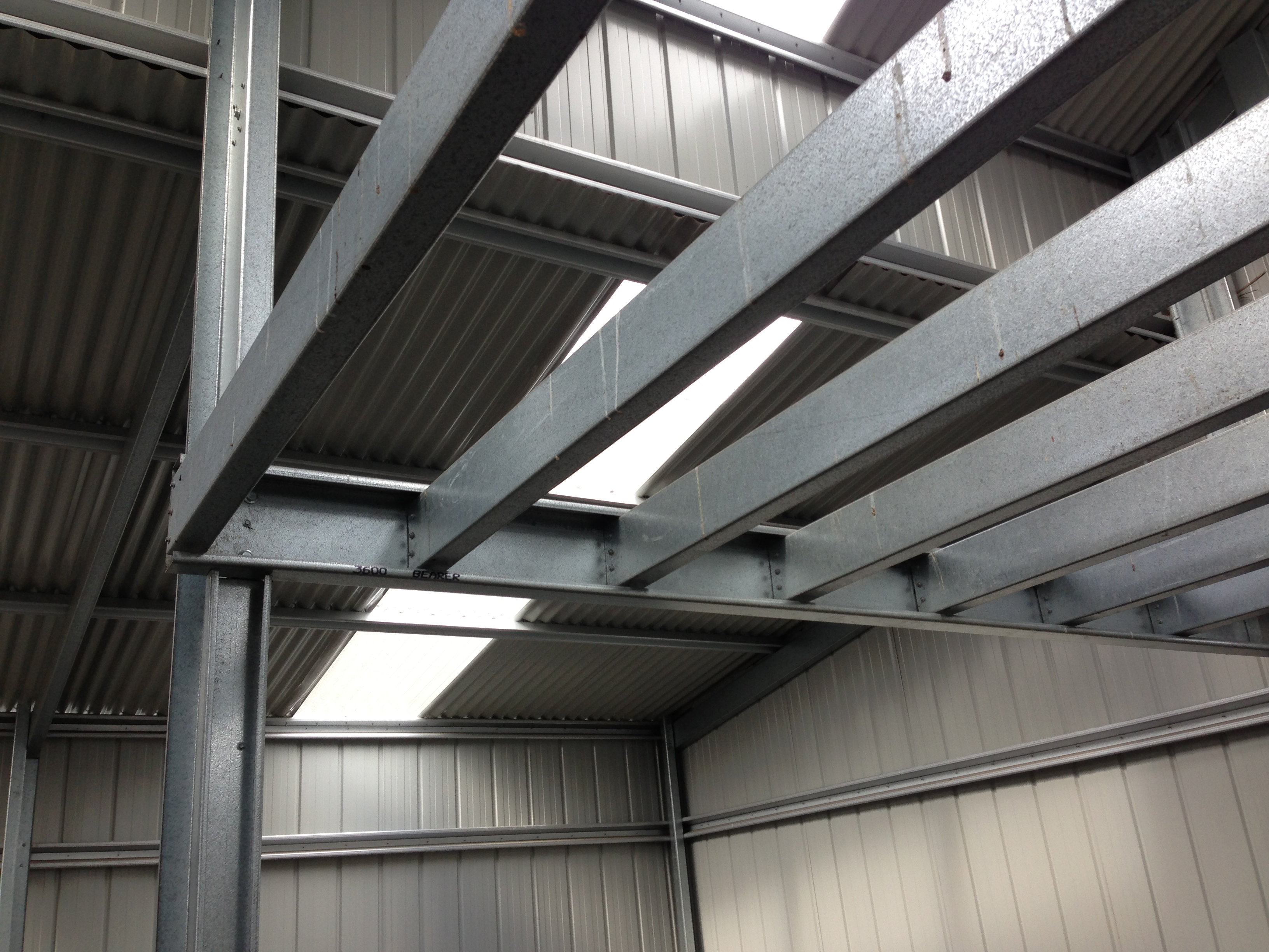 Getting the vibe stu 39 s shed for How do i build a mezzanine