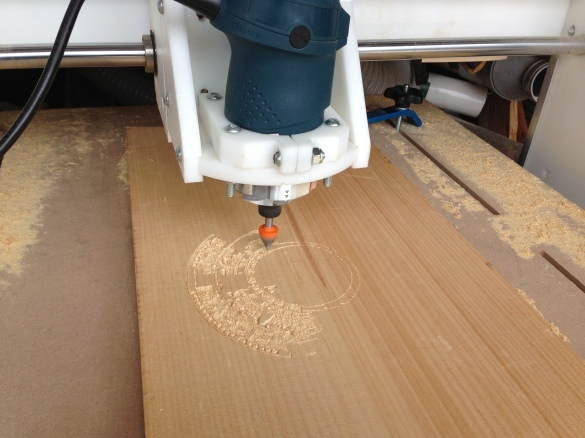 cnc wood machine