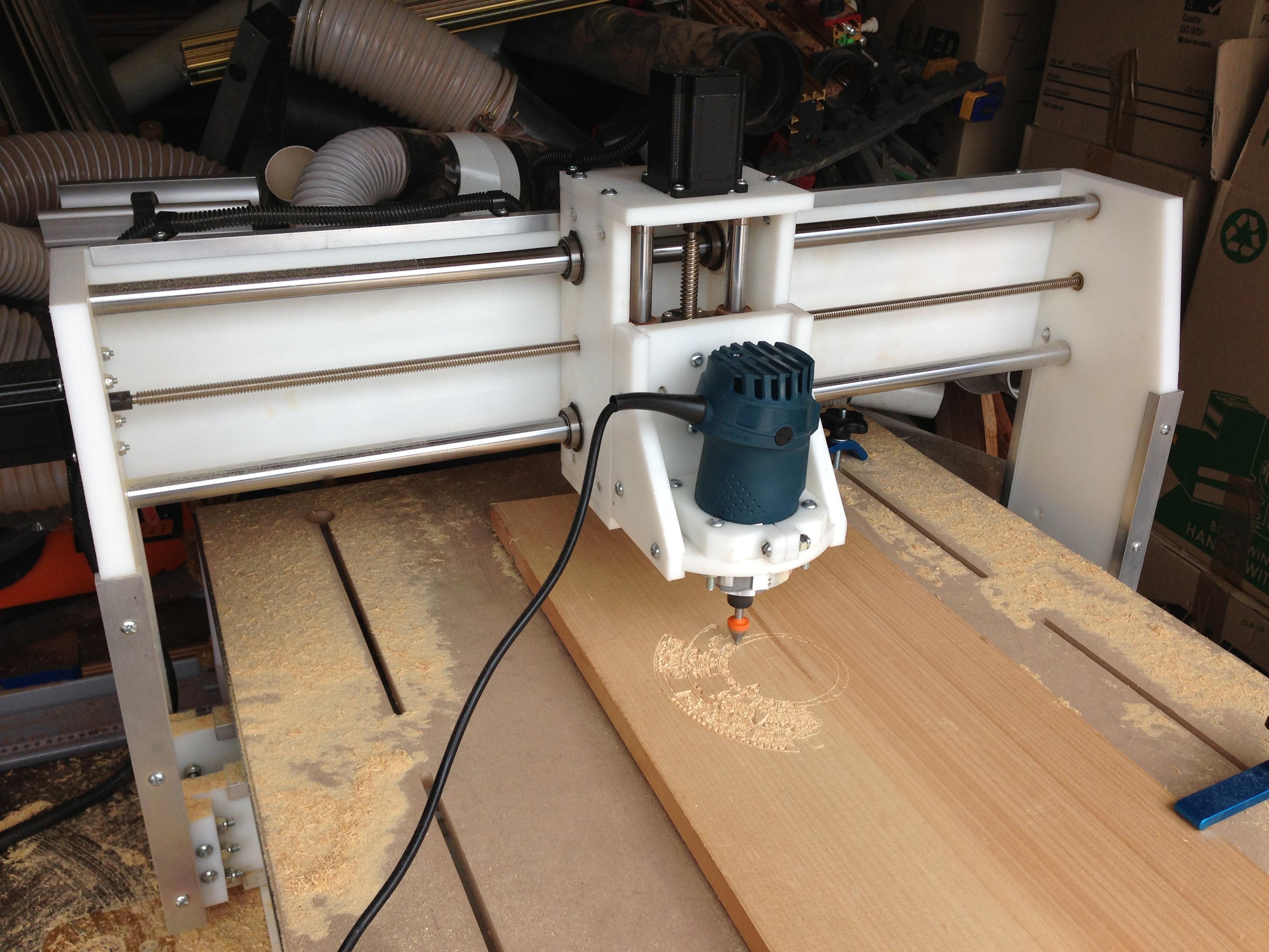 Cnc Machine Stu S Shed