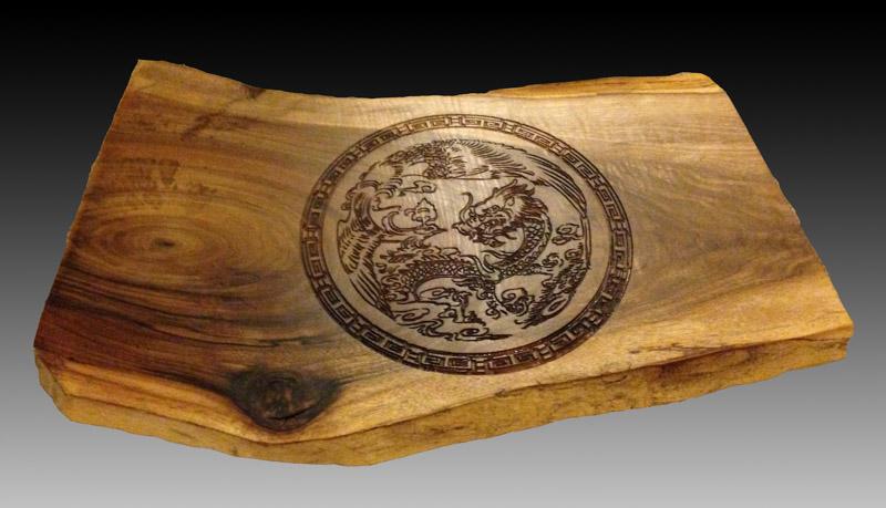 laser wood engrave