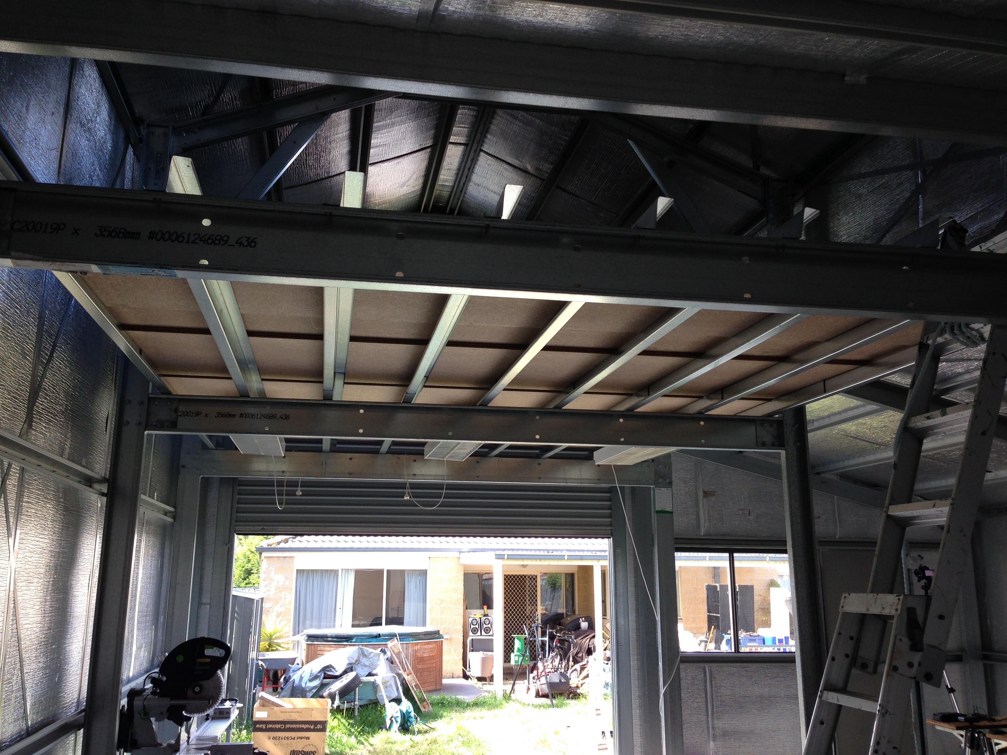 Mezzanine stu 39 s shed for How do i build a mezzanine