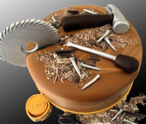 Wood-work-cake