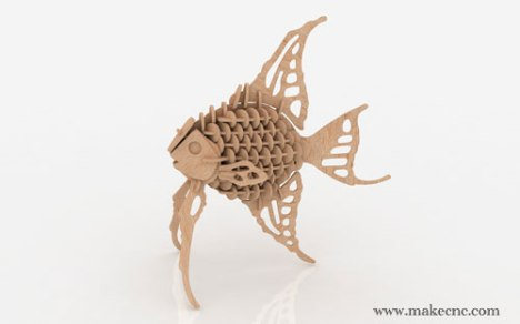 Angel-Fish_3d_scrollsaw_pattern_dxf_500