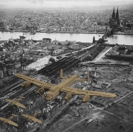 Ruins_Of_Koln_Aerial_View_Bahnhof_Deutz_Hohenzollern_brucke_1945